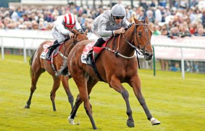 Living In The Past Wins Gr.2 Lowther Stakes